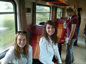Train to Kutna Hora