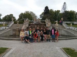Cesky Krumlov Castle Gardens